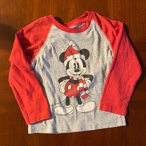 Mickey Mouse baseball T-shirt